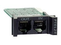 APC REPLACEABLE, RACKMOUNT, 1U, 2 LINE TELCO SURGE PROTECTION MODULE